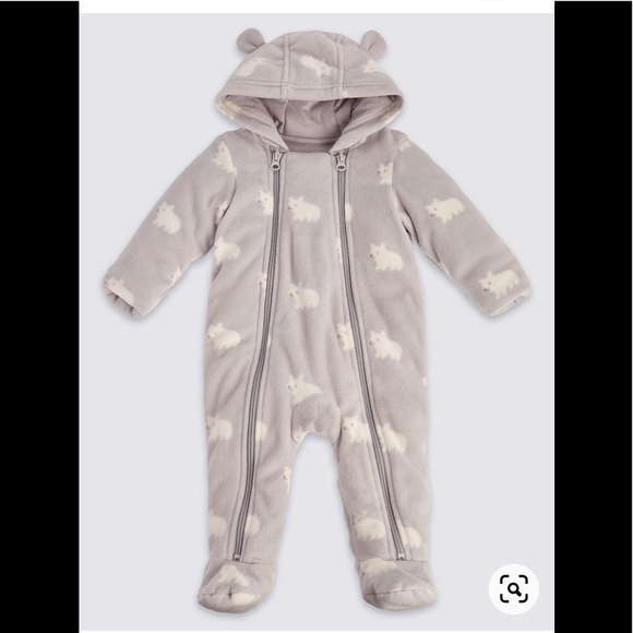 Baby snowsuit - 9-12 months - excellent condition